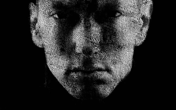 Digital Art - Eminem, DigitalArt - simplyharshit   ello