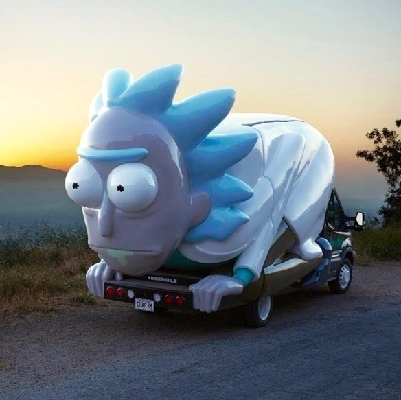 Behold 'Rick Morty' Rickmobile  - bonniegrrl | ello