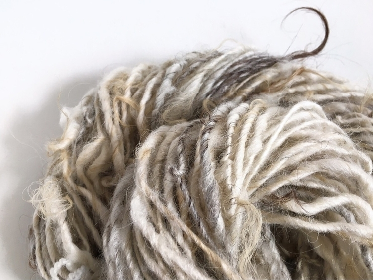 Handspun Lincoln wool art yarn - amandajfrench | ello