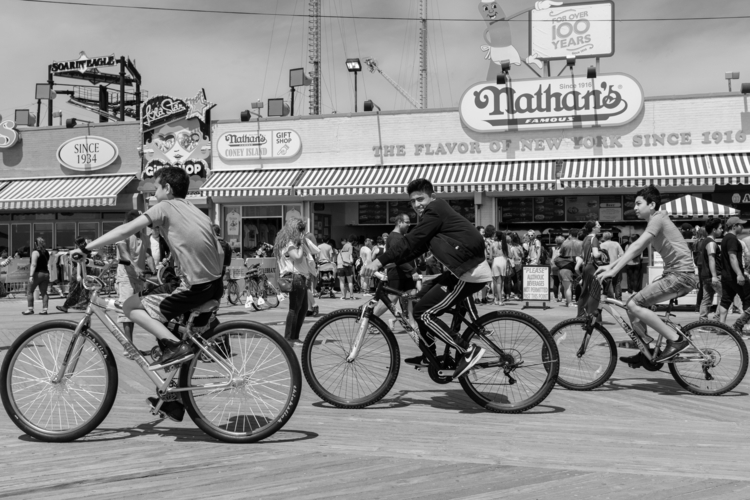 Boardwalk Bikers Coney Island,  - giseleduprez | ello