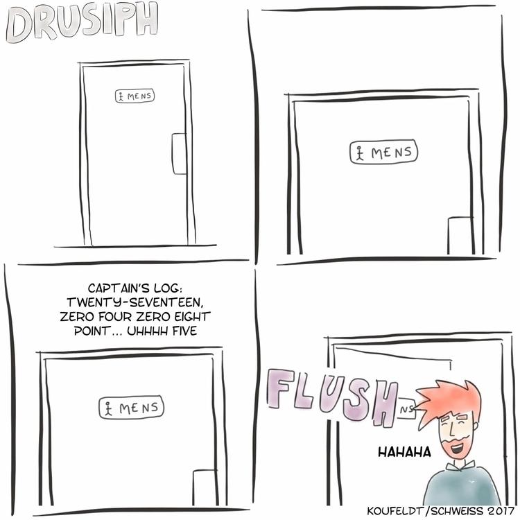 monday, drusiph, comic, comicstrip - drusiph   ello