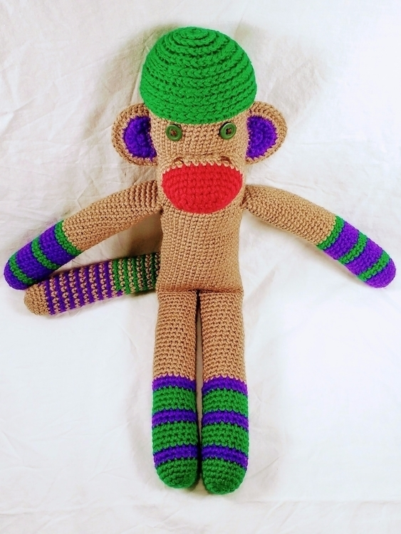 Happy monkey town today, Emeral - miniaturemonkeycreations | ello