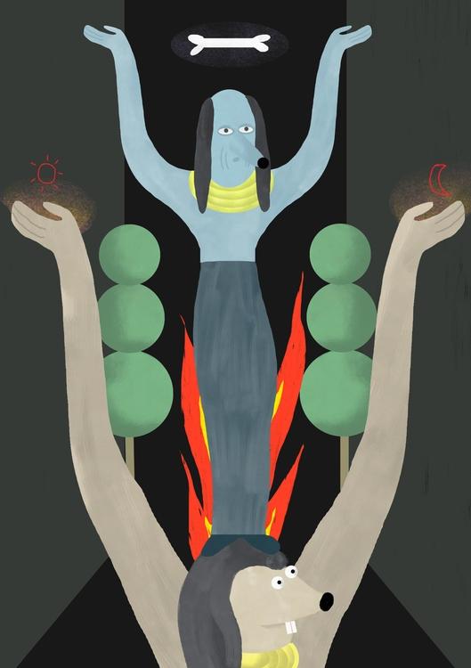 illustration,, ilustracion,, drawing, - elenaeper | ello