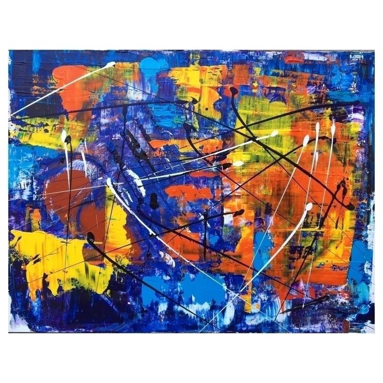 abstract, painting, artwork - marcovillard | ello