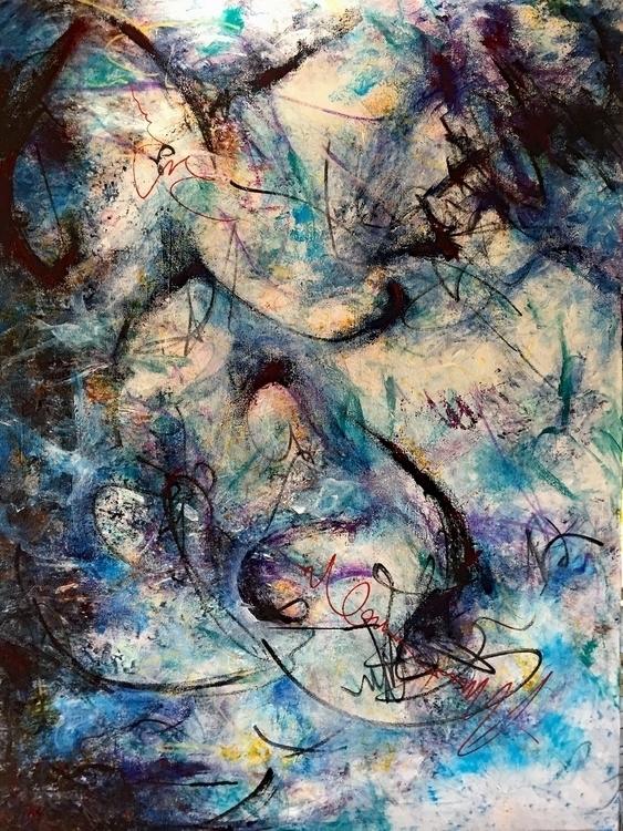 Chai Acrylic canvas 40 30 - art - geralyninokuchi   ello