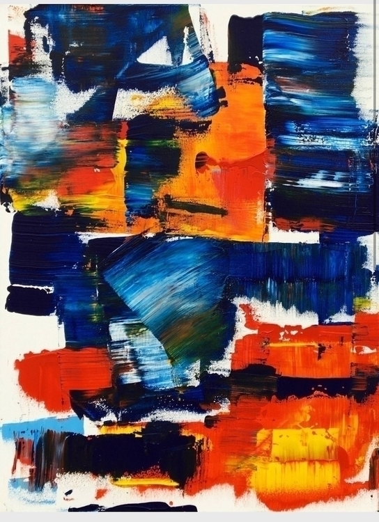 abstract, painting, artwork, art - marcovillard | ello