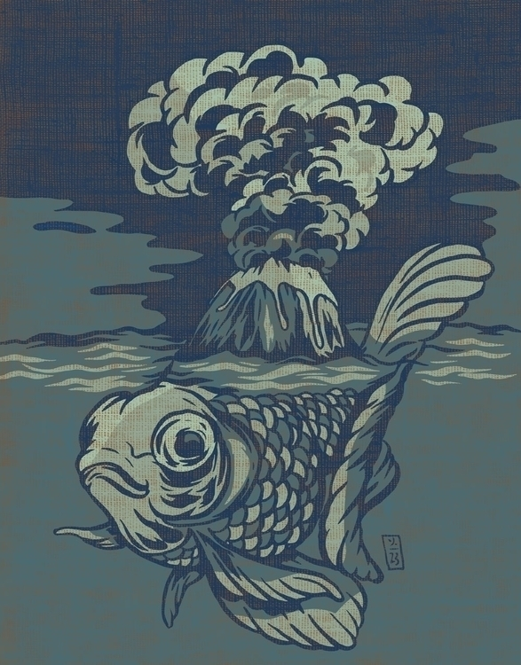 Seismic Waves - illustration - thomcat23   ello