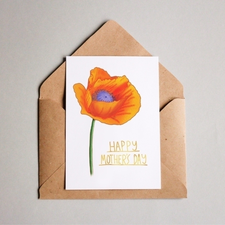 mothersdaycard, loveyourmom, illustration - juulstudio | ello