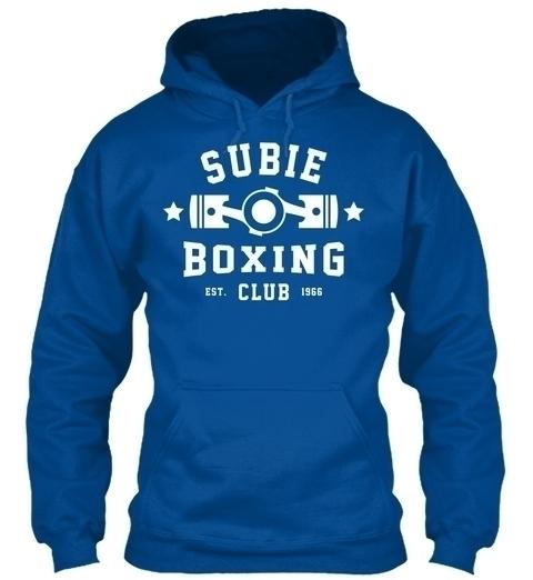 SUBIE BOXING CLUB 1966 - subie, subaru - melvtec | ello