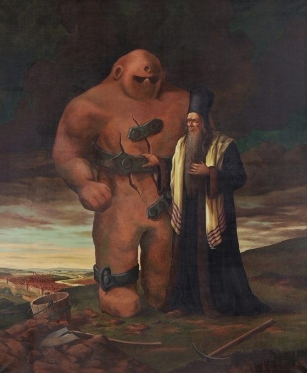 Legend Golem - golem, transhuman - valosalo | ello