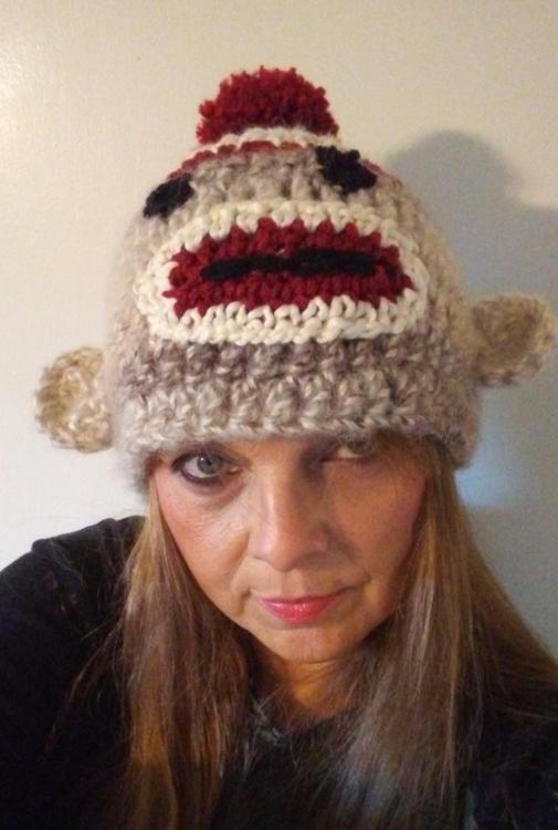 sock monkey hat - gjanney | ello