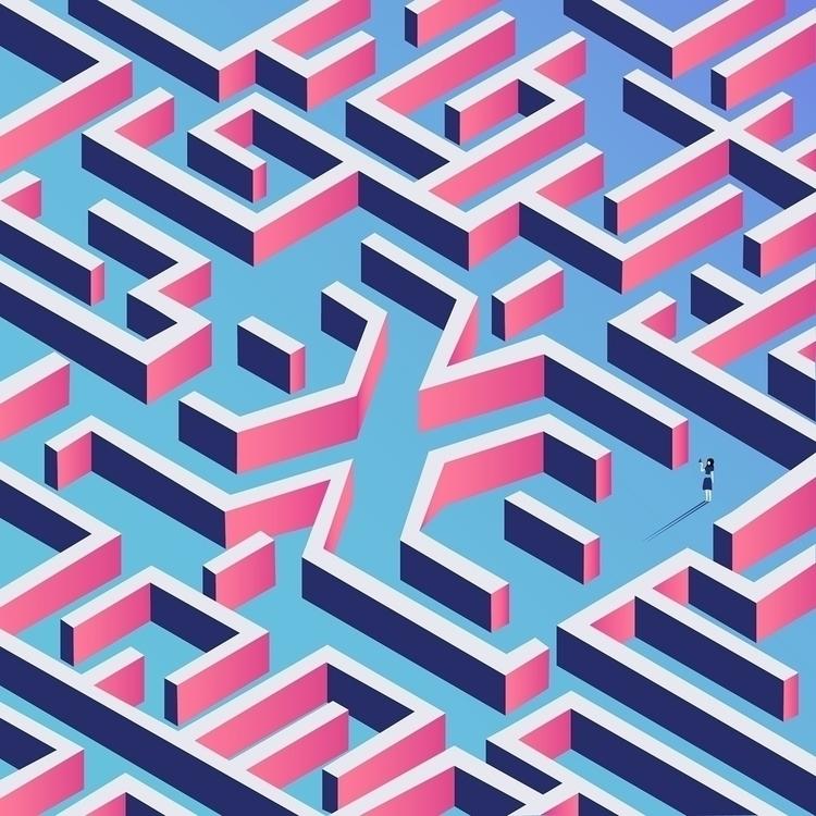Typographic Graphic Art Month - typography - curious_lauren | ello