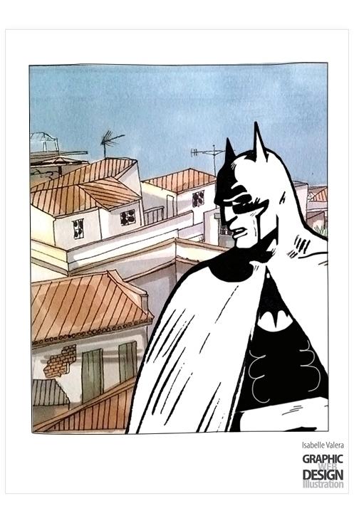 Batman sevillan rooftops. (Batm - ivalera | ello