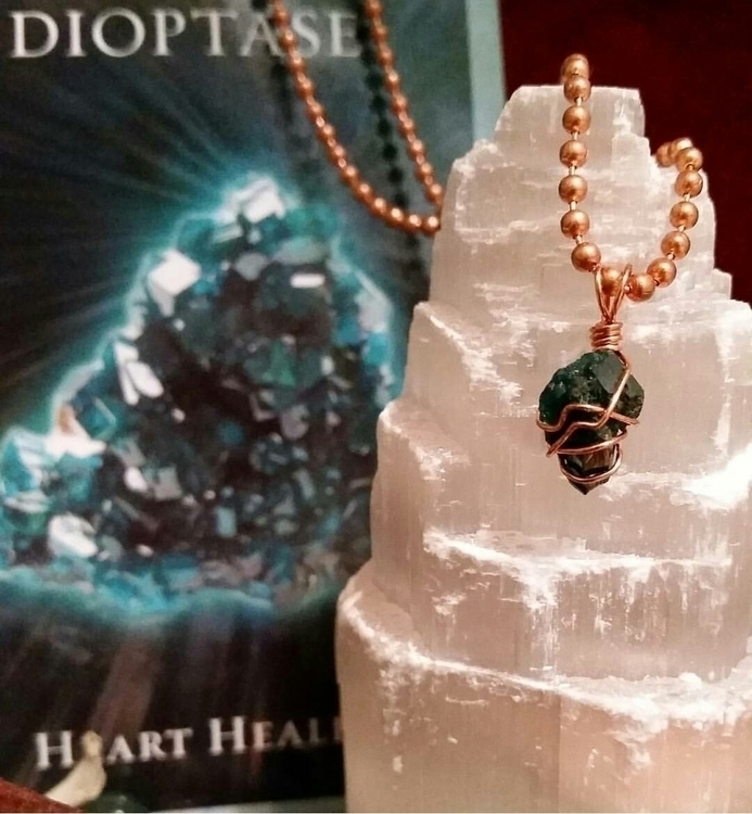 Dioptase powerful stone awaken  - elevatingvibrations | ello