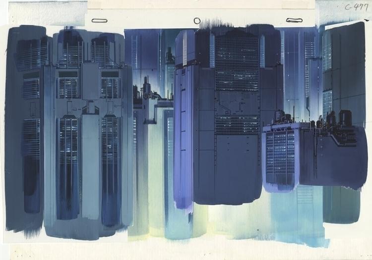 Anime Architecture: Backgrounds - comicbuzz | ello