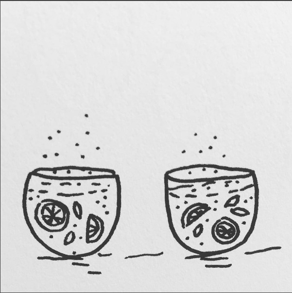 Daily Drawing Day - bubbly wate - wawawawick | ello