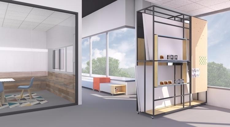 Renderings Design Shutterfly HQ - mochee_bonbons | ello