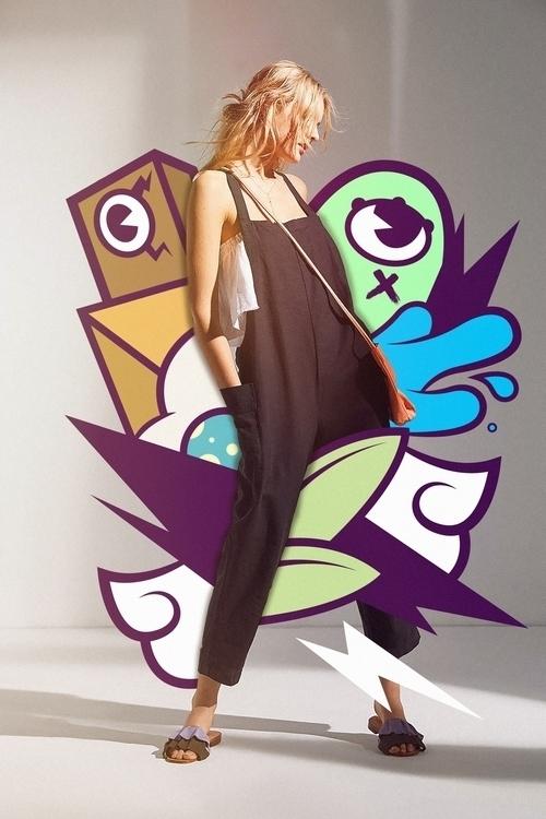 edit Urban Outfitters model - gif - redaelmraki | ello