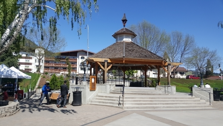 Town Gazebo Leavenworth, WA - littleduffer20 | ello