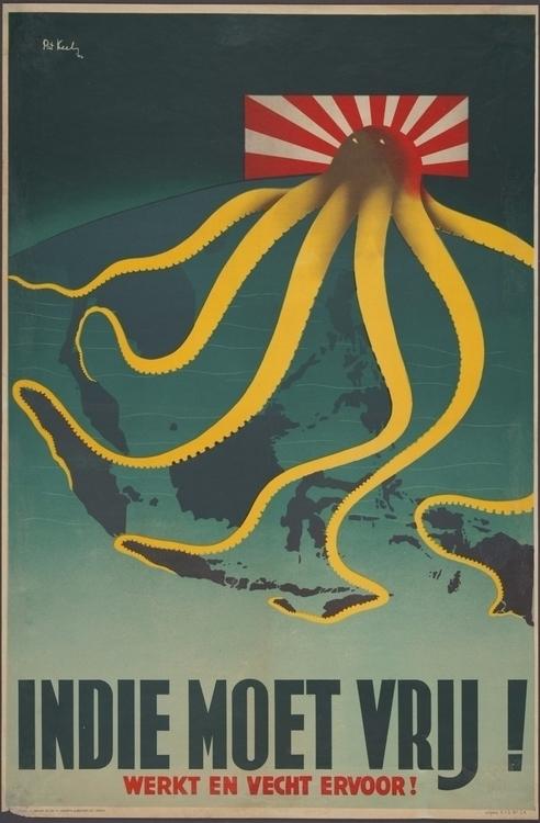 Octopus, Motif Evil Historical  - valosalo   ello