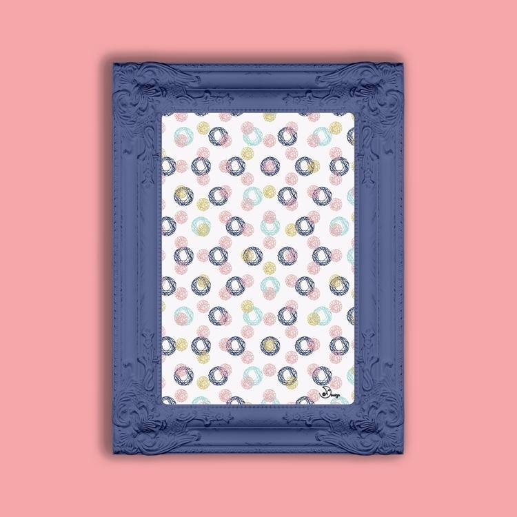 Colorful Scribbles - pattern, texture - designdn | ello