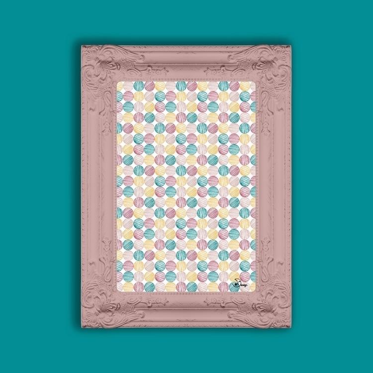 Scrawled Polka Dots - pattern, texture - designdn | ello