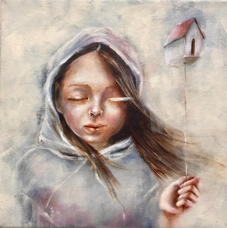 home Acrylics canvas. 30 cm -20 - caropepe_ | ello