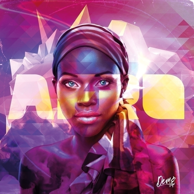 'Afrofuturism' artwork DeadHuma - deadhumandesign | ello