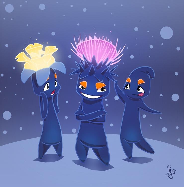 Globulbes 006 - illustration, characterdesign - schoyhan | ello