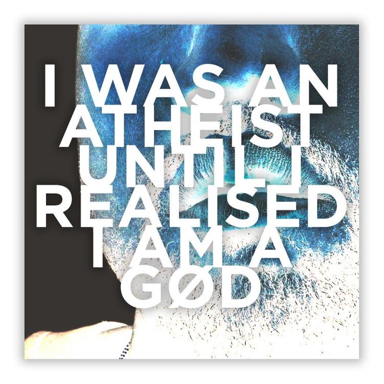 atheist, iamagod, god, blasphemy - mercury101 | ello