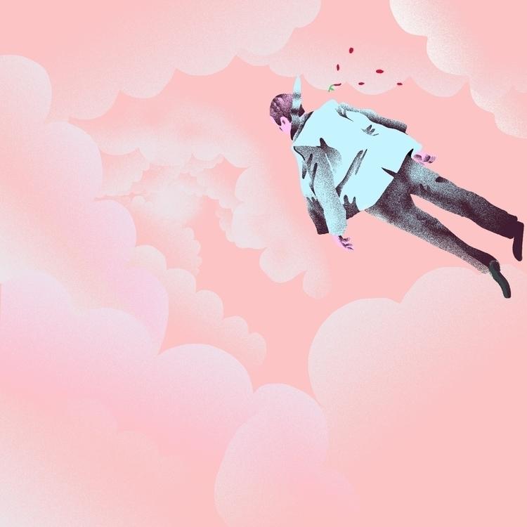 Happen (Tame Impala - illustration - richchane | ello