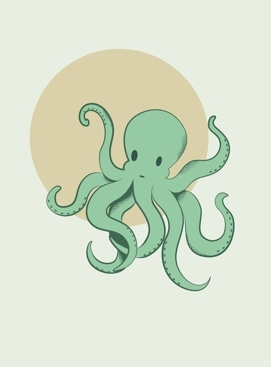octopus created Adobe Illustrat - svaeth | ello