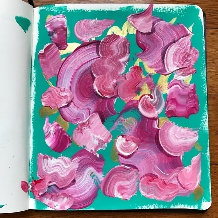 Deciding color scheme painting - dhuston | ello