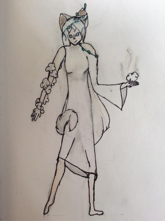 character... human version cat - princesswho | ello
