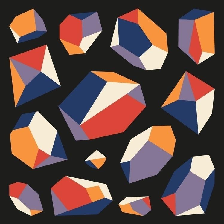 Diamonds pattern Trikoterie, bi - daniel_triendl | ello