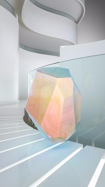 Crystal Series: Corian - iridiscent - molistudio | ello
