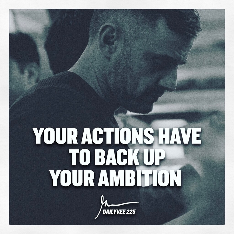 actions ambition. Gary Vaynerch - esquirephotography | ello