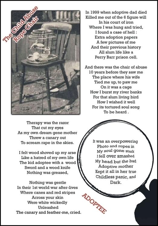 Child abuse chair .... Tied ado - silvisrivers   ello
