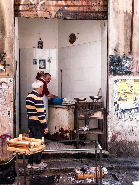 Palermo, Ballaro, market, fishermen - subyair | ello