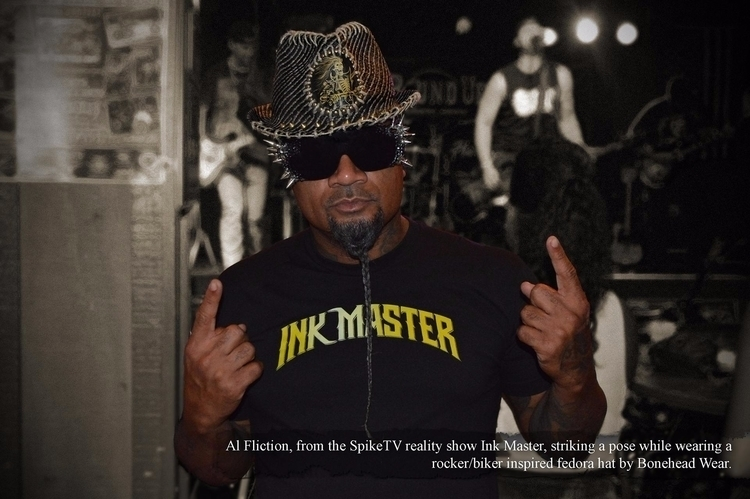 Al Fliction SpikeTV show Ink Ma - boneheadwear | ello