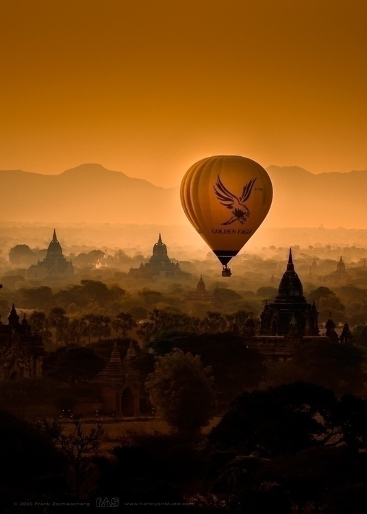 Ballon ride Bagan | Myanmar - photography - frank-zschieschang | ello
