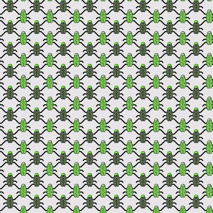 pattern, bugs, illustration - movmind | ello