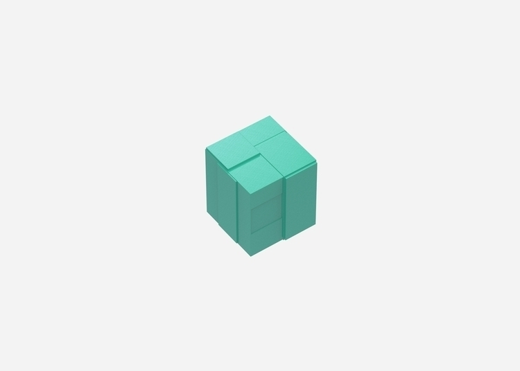 mint - shape, 3d, design, render - chengtaoyi | ello