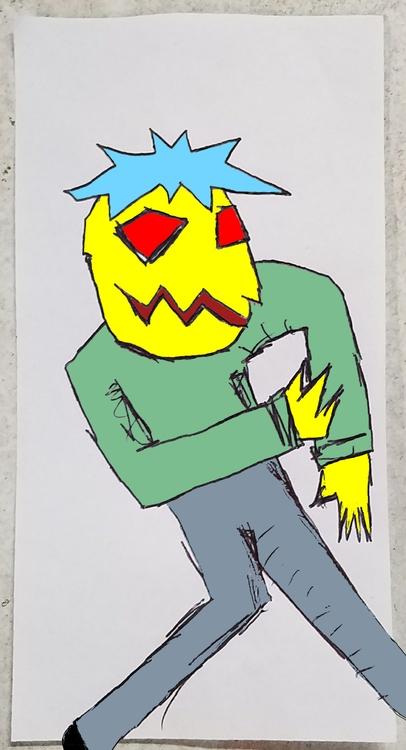 Yellow Guy Robot' Richard Yates - richardfyates   ello