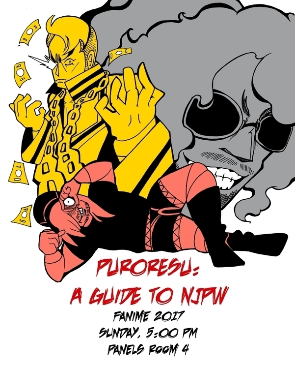 flyer created panel Japan Pro-W - tofuplusbeast | ello