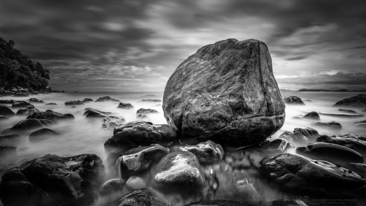 Timeless - seascape, blackwhite - frank-zschieschang | ello