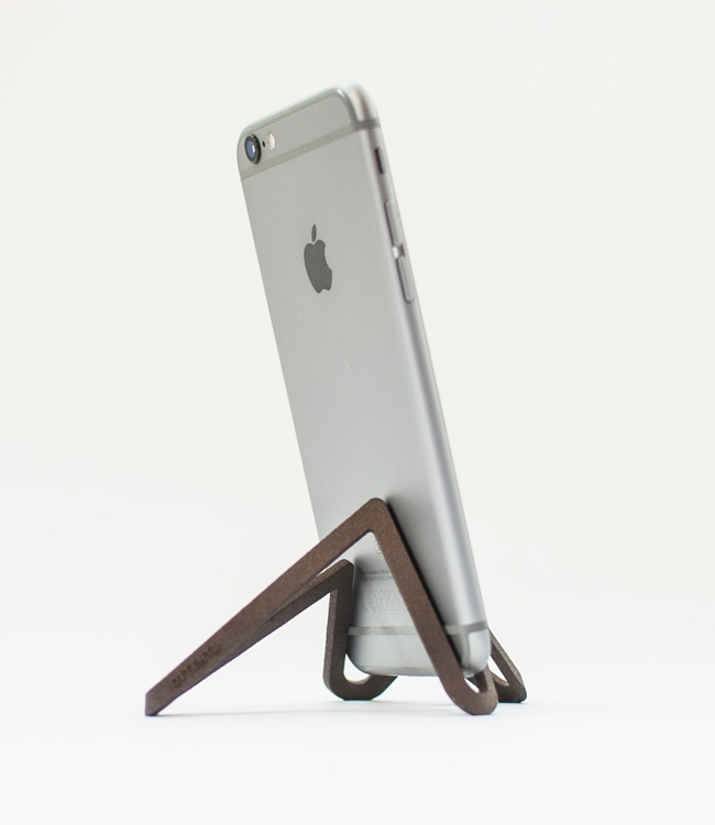 Matte Bronze finished phone sta - letsdesigndaily | ello