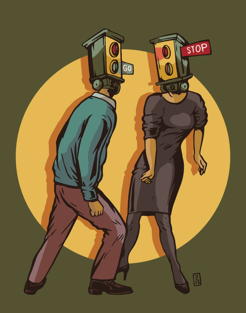 Stop - illustration - thomcat23 | ello