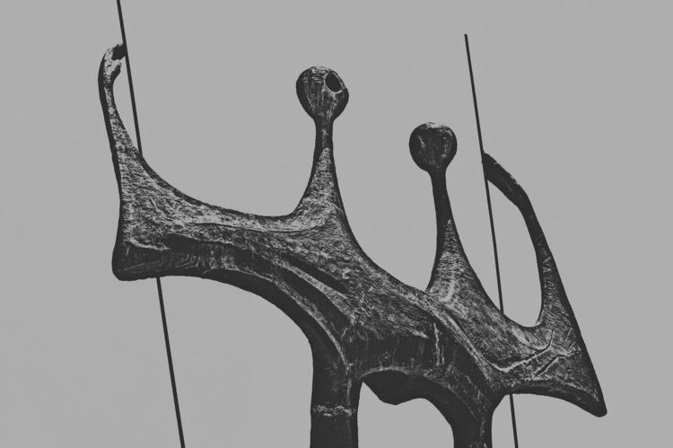 Dois Candangos, Bruno Giorgi  - sculpture - alexandreperotto | ello