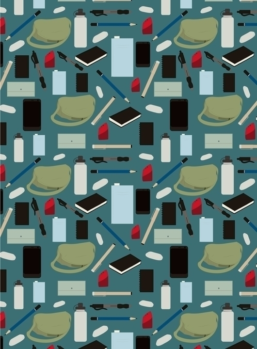 bag themed pattern design adobe - svaeth | ello